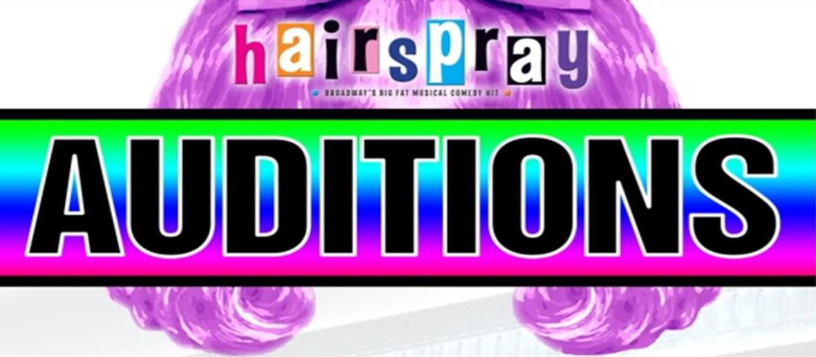 Hairspray Audition Header