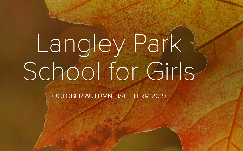 October half term newsletter