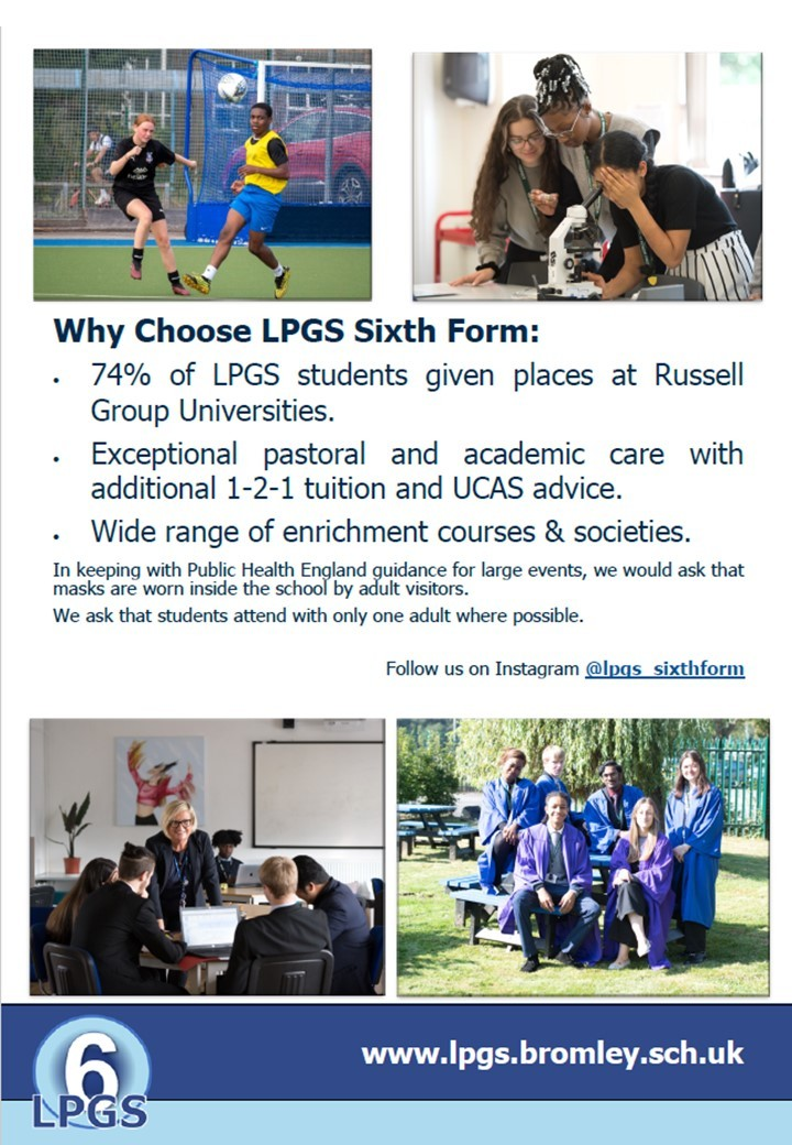 Sixth Form Open Eve 2